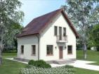Проект комфортного дома с мансардой